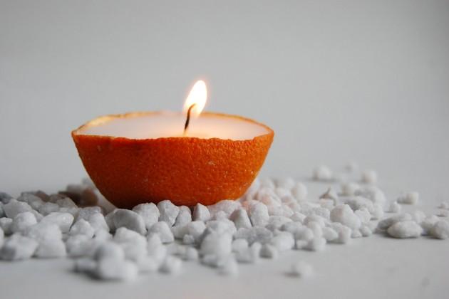 21 Creative Handmade Candle Decorations