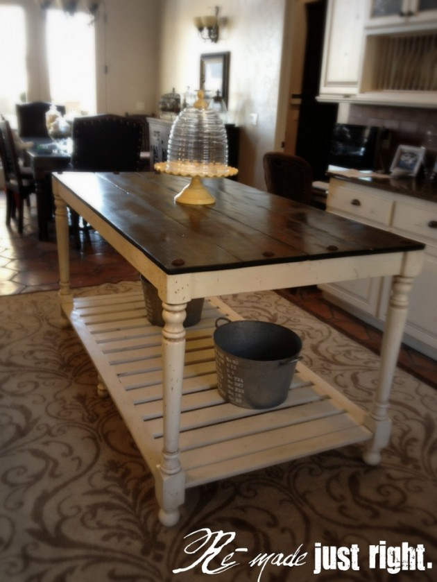 kitchen island designs diy 30 rustic diy kitchen island ideas 822
