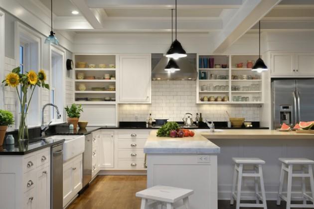 L Shaped Kitchen Design 19 elegant l-shaped kitchen design ideas