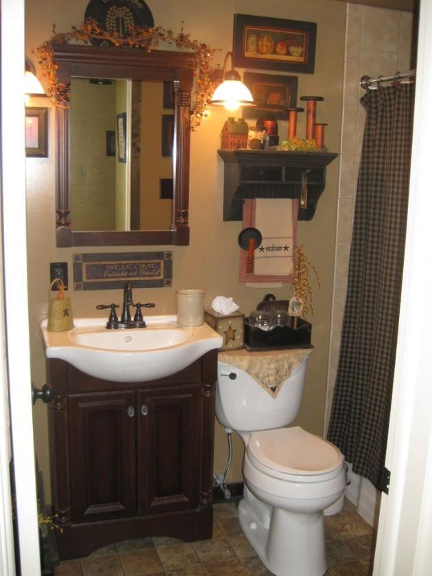 25 Amazing Country Bathroom Designs on Rural Bathroom  id=21350