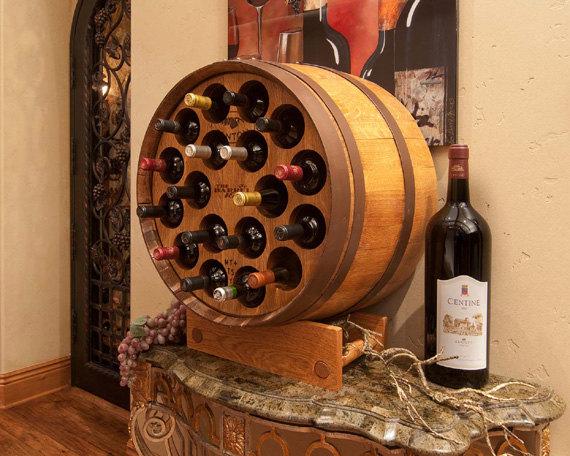 24 Unique Handmade Wine Rack Designs