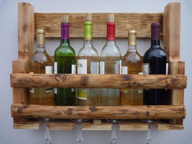 24 unique handmade wine rack designs. Black Bedroom Furniture Sets. Home Design Ideas
