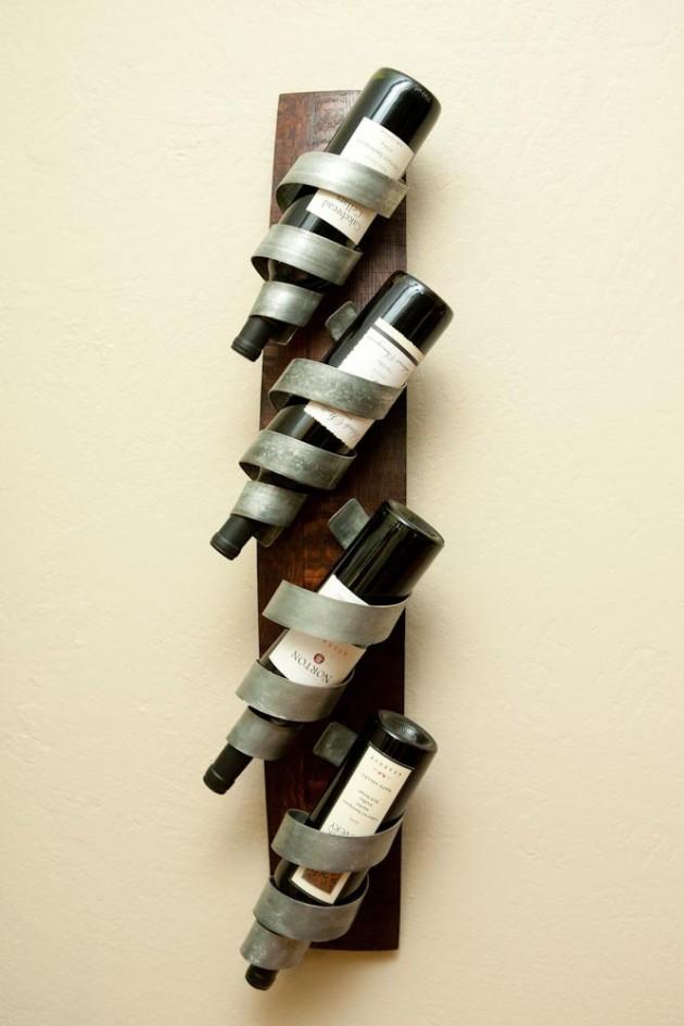 wallmounted wine rack