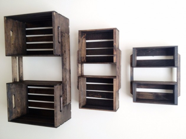 Creative DIY Project Ideas From Old Crates
