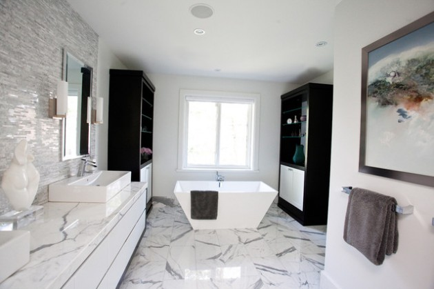 Exquisite Marble Bathroom Design Ideas