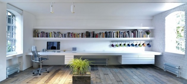 Fascinating minimalist loft apartment in london for Minimalist house london