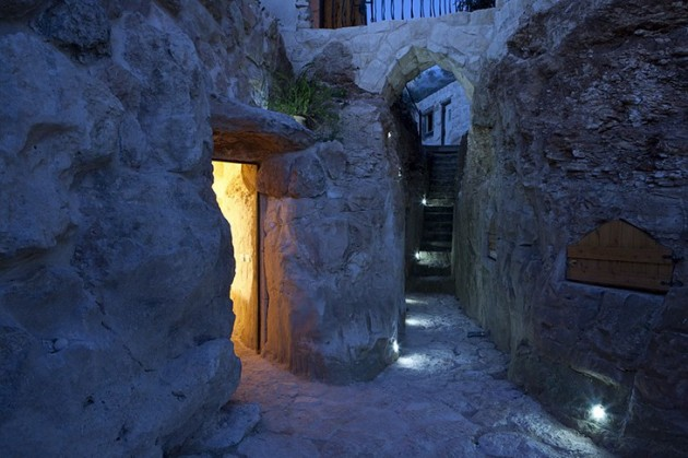 Columbarium  Romantic and luxurious Cabins in Shekef, Israel