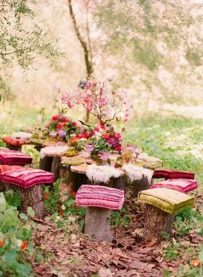 Boho Backyard Ideas : 27 Amazing Ideas How to Make Your Garden Bohemian Style
