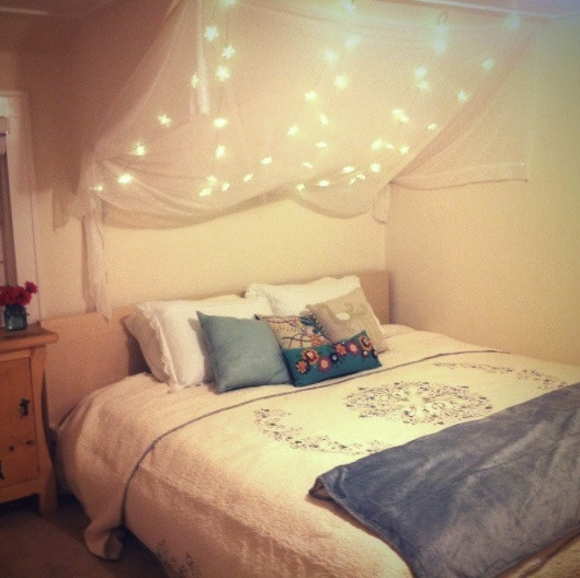 Amazing Canopies With String Lights Ideas