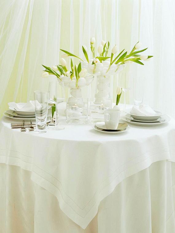 30 Vivid DIY Easter-Spring Table Centerpieces