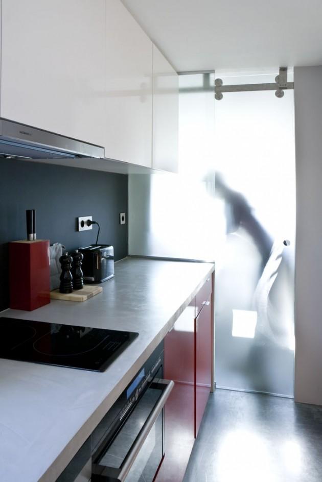 Old Bathroom Transformed into 16 sqm Studio Apartment