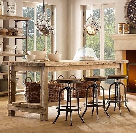 30 rustic diy kitchen island ideas - Rustic Kitchen Island