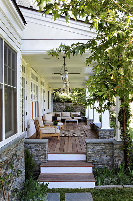 17 Creative Solutions for Small Front Porch