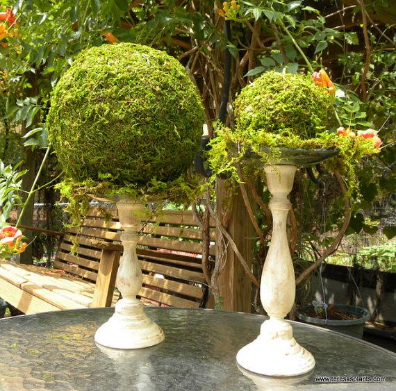 Diy Decor Balls: 30 Impressive DIY Moss Decorations For This Spring