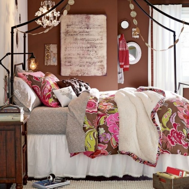23 fabulous vintage teen girls bedroom ideas for Jugendzimmer vintage
