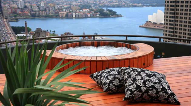 Enter a Piece of The Haven in Your Home- 20 Divine Outdoor Hot Tub Designs