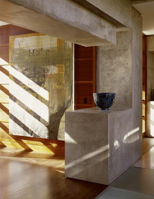 23 Glamorous Interior Designs With Concrete Walls