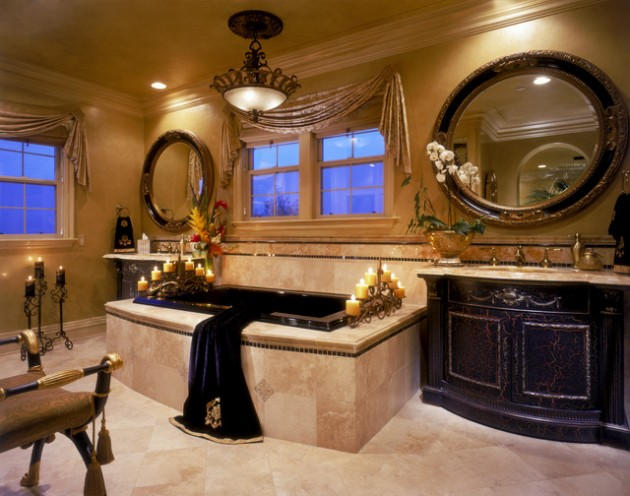 21 Dream Master Bathrooms That Will Leave You Breathless  21 Dream Master Bathrooms  963 630x496
