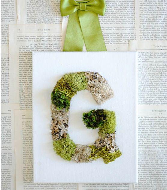 30 Blooming DIY Monogram Letter Ideas