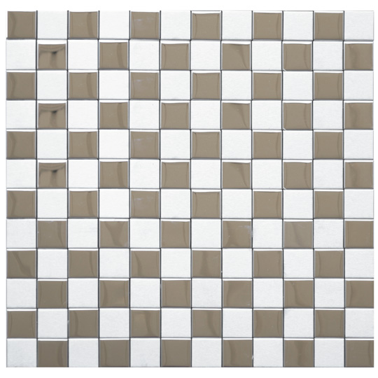 Stainless Steel Mosaic Tiles: Giving Your Kitchen a Modern Look