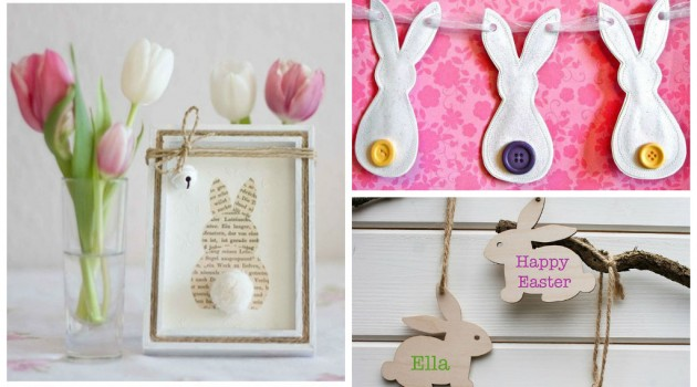 30 Creative DIY Easter Bunny Decorations