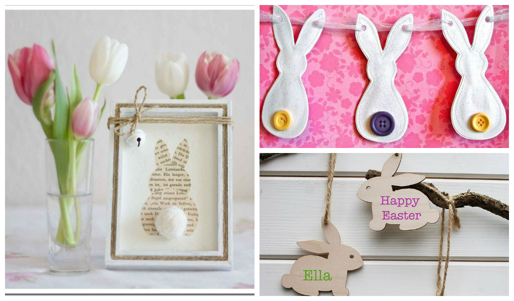 DIY Easter Bunny Decorations