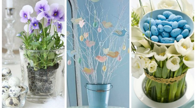 30 Vivid DIY Easter-Spring Table Centerpieces
