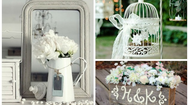 25 Amazing White Rustic Décor for This Spring