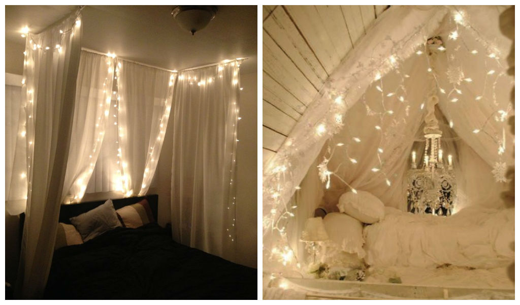 & 23 Amazing Canopies with String Lights Ideas
