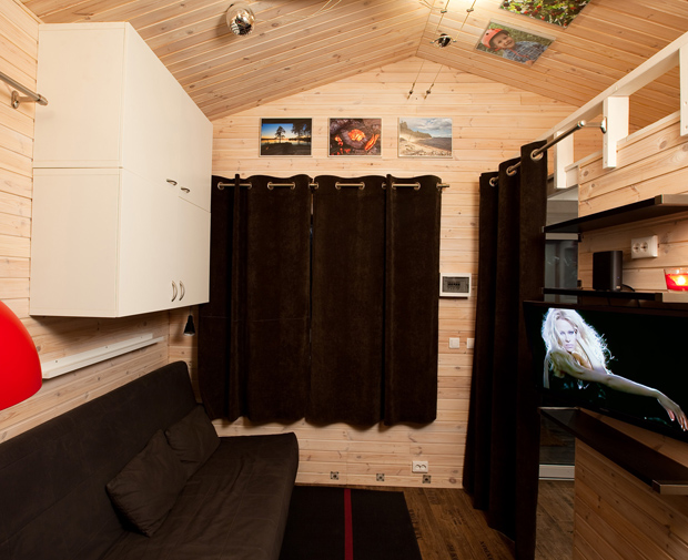 Very small house from Russian architect Andrey Bugaev!