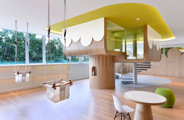 Spring Kindergarten in Wanchai by Joey Ho Design