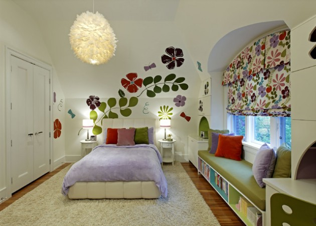 16 Lovely Colorful Kids Bedrooms That Your Kids Will Adore