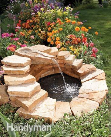 23 Astonishing DIY Garden Fountain Tutorials