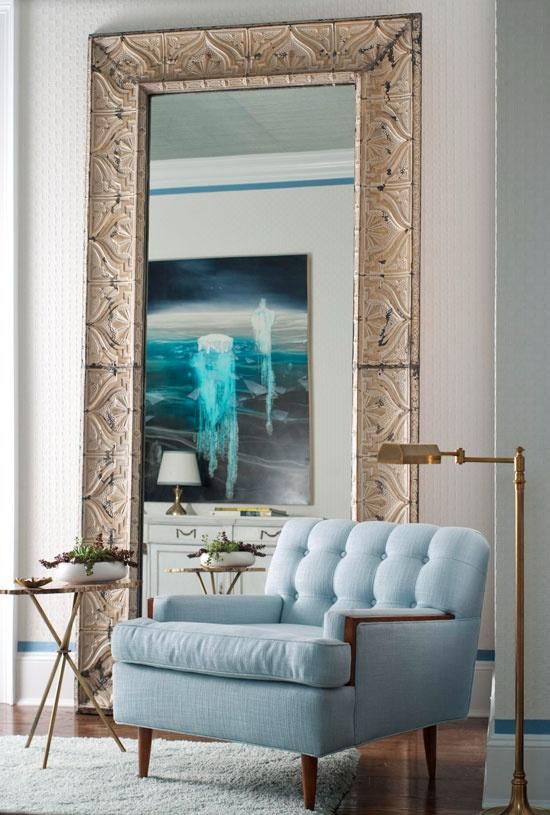Living Room Mirror Floor