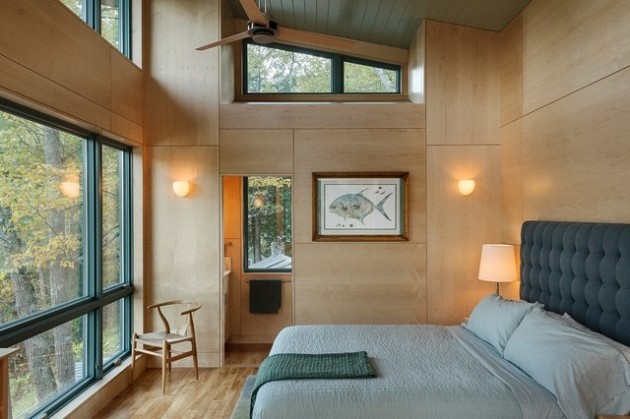 17 Inspirational Ideas How to Add Warmth in Your Home Using Plywood