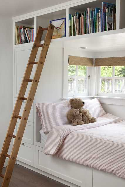27 fantastic built in bunk bed ideas for kids room from a. Black Bedroom Furniture Sets. Home Design Ideas