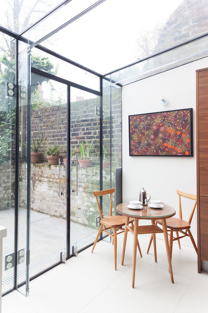 18 Simply Elegant DIning Room Design Ideas with Glass Walls