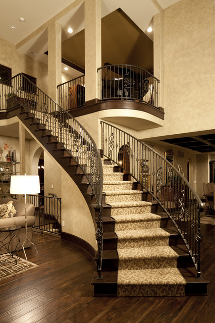 17 Stunning Interior Design Ideas For Living Room: 17 Great Traditional Staircases Design Ideas