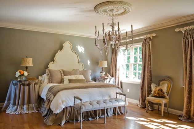 16 charming victorian bedroom design ideas for Victorian style master bedroom