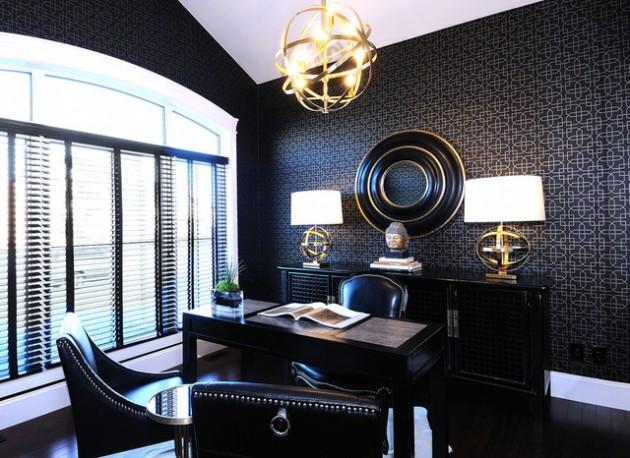 Masculine Home Office Design Ideas from www.architectureartdesigns.com