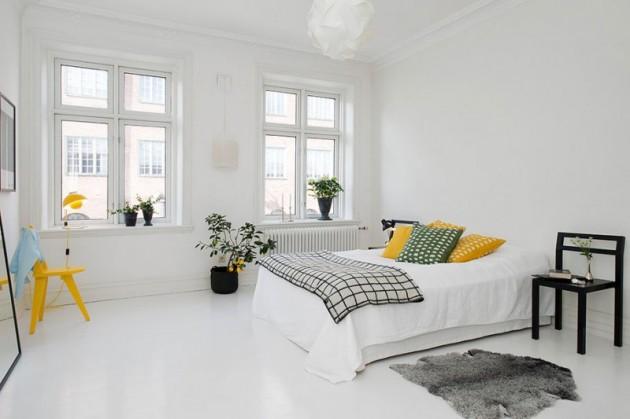 18 Bright and Airy Scandinavian Bedroom Design Ideas