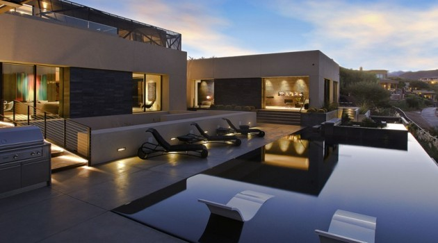 Tresarca Residence by assemblage STUDIO in Las Vegas, Nevada, USA
