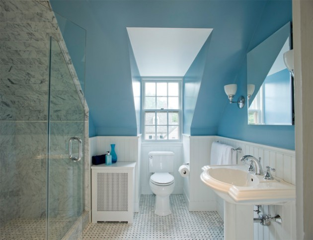 Efficient Use Of Your Attic 48 Sleek Attic Bathroom Design Ideas Impressive Attic Bathroom Designs