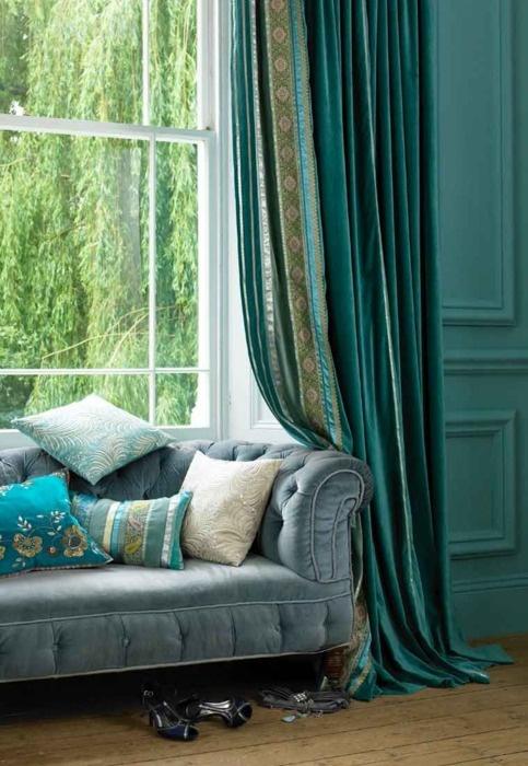 25 Glamorous Turquoise Interior Designs