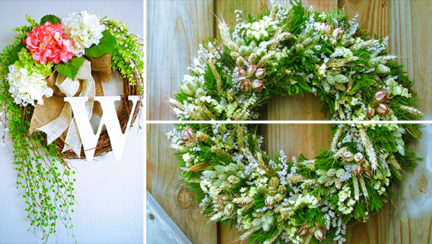 19 Fresh-looking Handmade Spring Wreath Designs