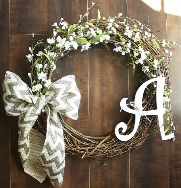 19 Fresh looking Handmade Spring Wreath Designs