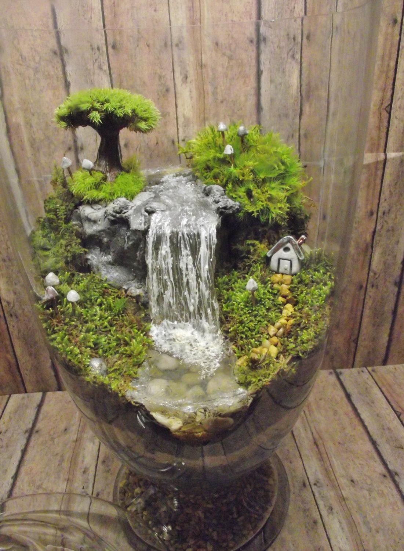 Водопад поделка своими руками мастер класс с пошаговым фото