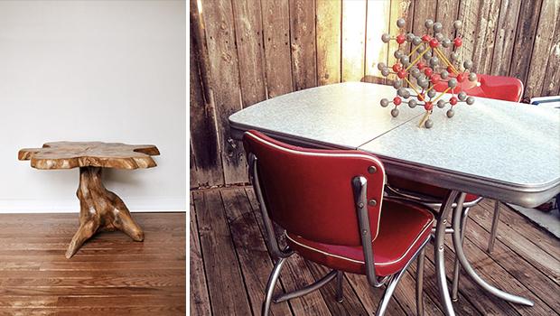 21 Timeless Vintage Table Designs