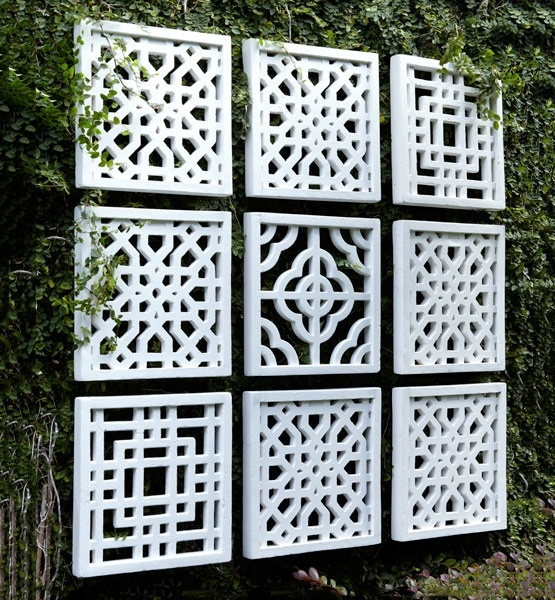 25 Incredible DIY Garden Fence Wall Art Ideas on Outdoor Garden Wall Art Ideas id=24904