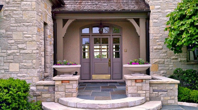 23 Creative Ideas Of Traditional Outdoor Front Entry Steps